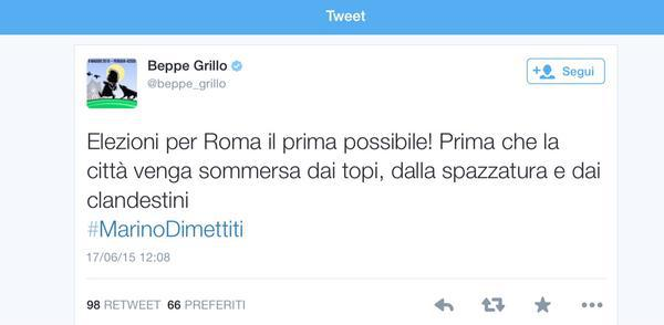 post Beppe Grillo